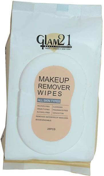 Glam 21 MAKEUP REMOVER WIPES (28 pcs) Makeup Remover