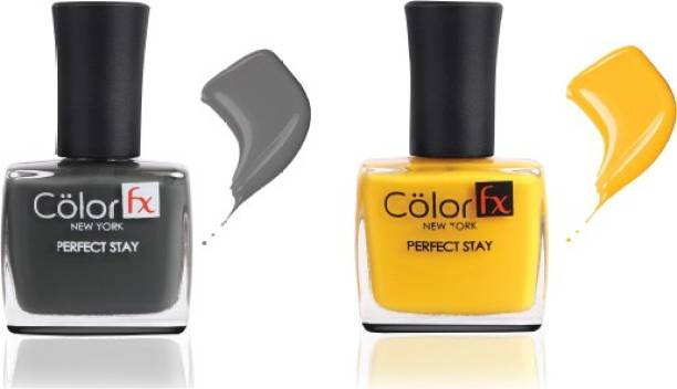 Color Fx Nail Enamel Perfect Stay - Basic Collection 131 & 132