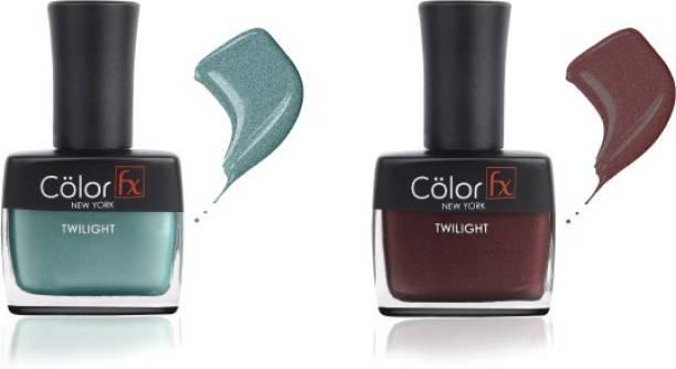 Color Fx Nail Enamel Twilight - Festive Collection 145 & 146