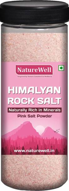 Naturewell 400 Gram Premium Quality Himalayan Rock Salt for Better Health Himalayan Pink Salt
