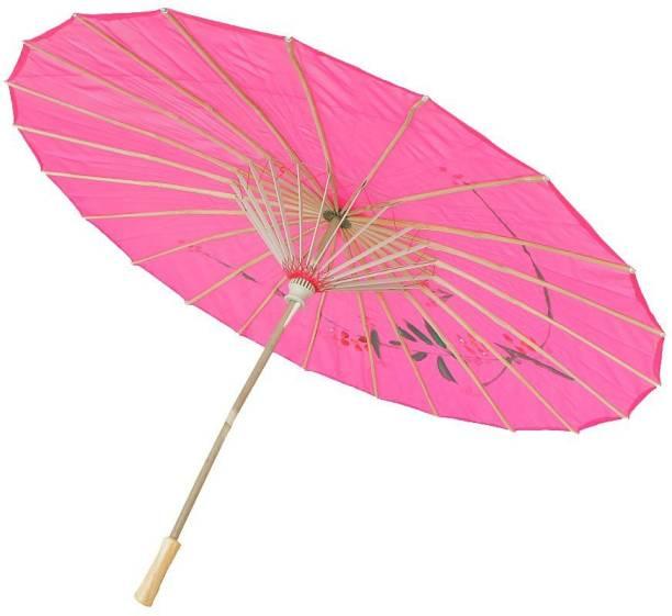 Power Up Handmade Cloth Floral Umbrella Wedding Dance Props Umbrella