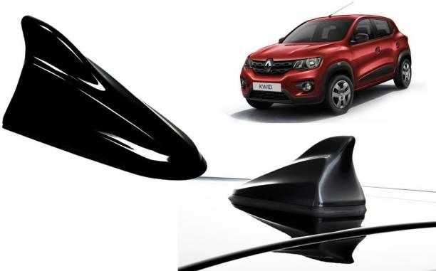 Auto Kite Black Shark Fin Replacement Signal (AM/FM)Receiver Antenna For Renault Kwid Hidden Vehicle Antenna