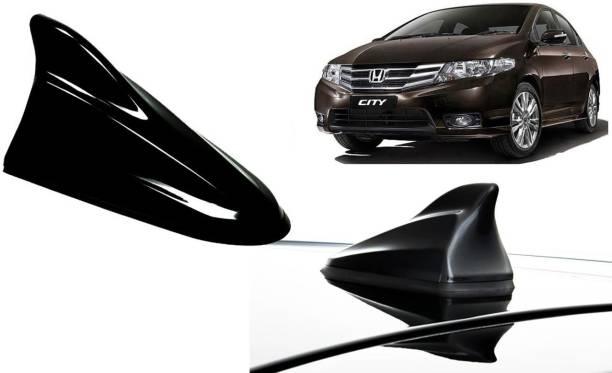 Auto Kite Black Shark Fin Replacement Signal (AM/FM)Receiver Antenna For Honda City Ivtec Hidden Vehicle Antenna
