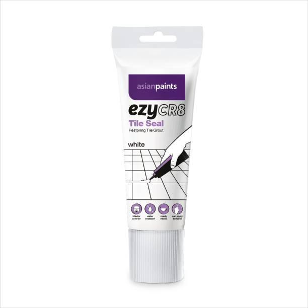 ASIAN PAINTS EzyCR8' Tile Seal, White 200 ml Adhesive