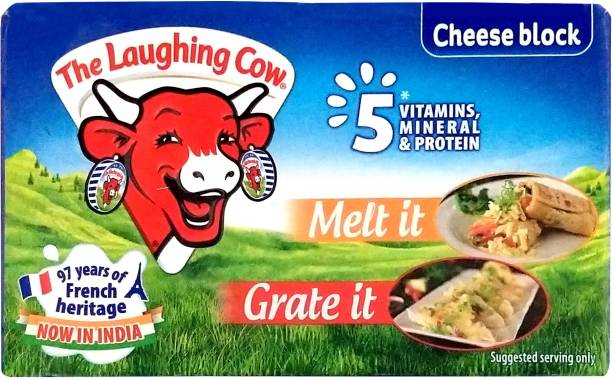 The Laughing Cow Plain Processed cheese Block
