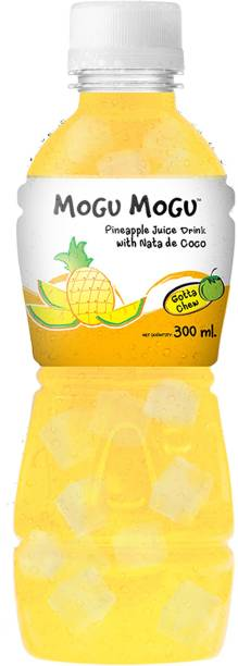 Mogu Mogu Pineapple Juice with Nata De Coco