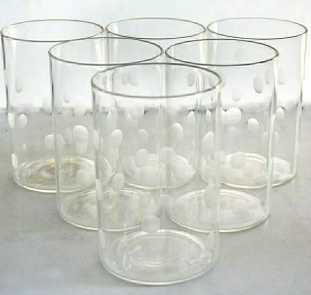 BOROSIL (Pack of 6) Ardh Sainik Foundation (VDLM350) Glass Set