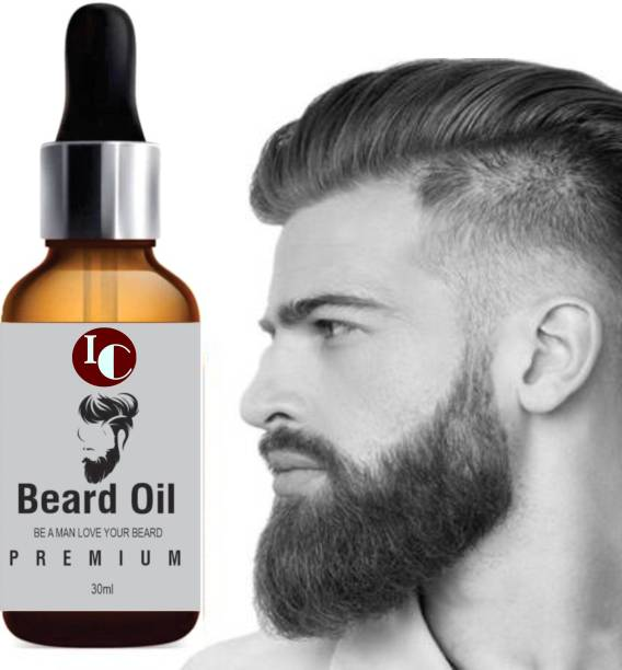 INDO CHALLENGE PREMIUM BEARD OIL- Enriched with Rose & Sandalwood oil For Fast Beard Growth  Hair Oil