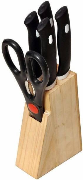 Revdi Classic Steel, Plastic, Wood Knife Set