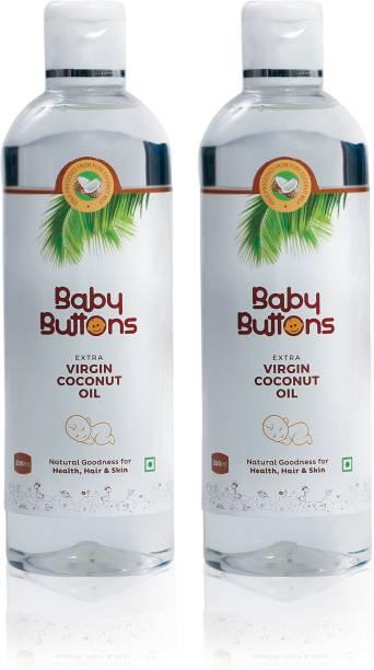 BabyButtons Extra Virgin Coconut Oil