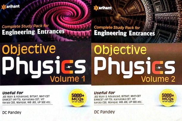 Engineering Entrances Objective Physics Volume - 1 & 2 Combo