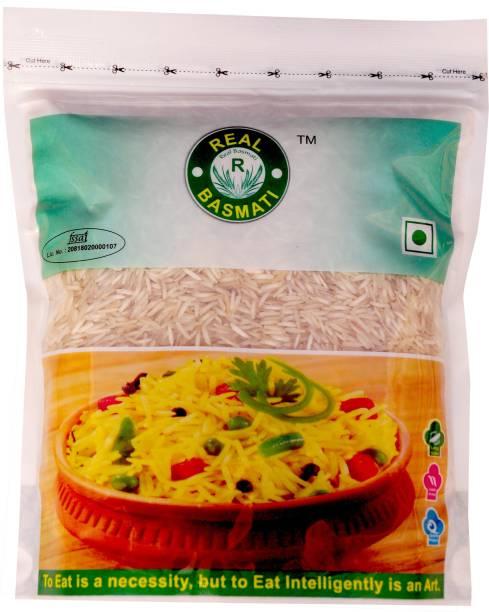 Real Basmati Regular (Pack of 5) Basmati Rice (Medium Grain, Steam)