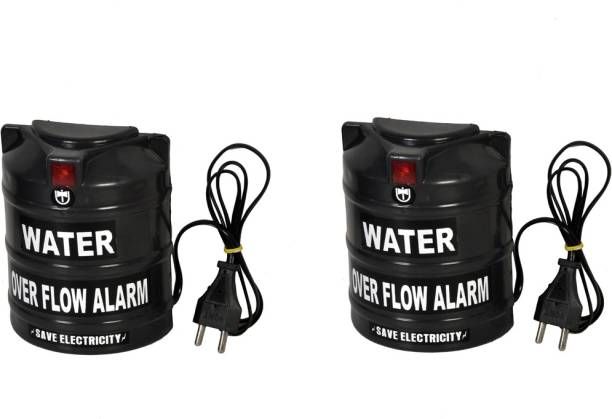 Tool Point Water Tank Overflow Alarm UW-06 AC Pack of 2 Wired Sensor Security System