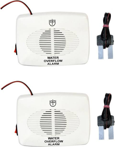 Tool Point Water Tank Overflow Alarm Battery Operated UW-03 DC Pack of 2 Wired Sensor Security System
