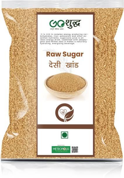 Goshudh Premium Quality Desi Khand/Raw sugar 5 kg Packing Sugar