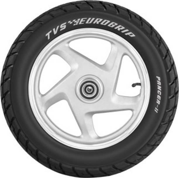 TVS Eurogrip Pancer II 90/100 - 10 53J Rear Tyre