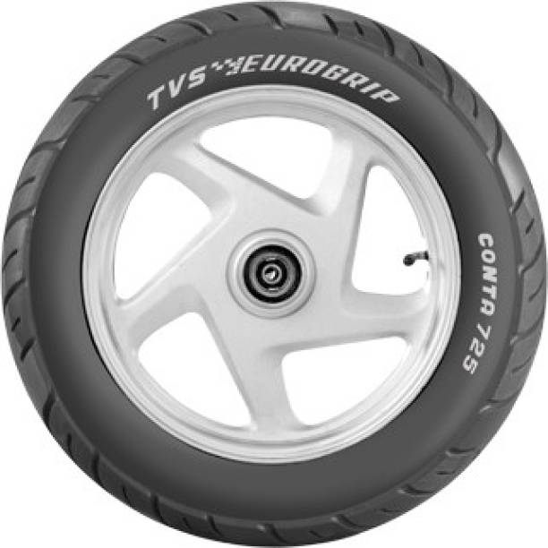 TVS Eurogrip Conta 725 90/100 - 10 53J Front & Rear Tyre