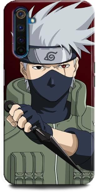 BARMANS Back Cover for Realme 6/ naruto, Naruto, Manga, Cartoon, Anime, kakashi