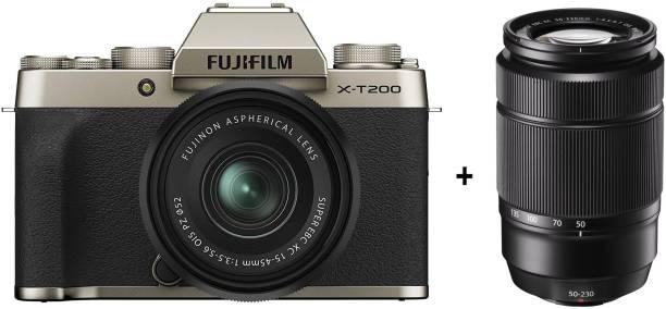 FUJIFILM X Series X-T200 Mirrorless Camera Body with 15-45 mm + 50-230 mm Dual Lens Kit