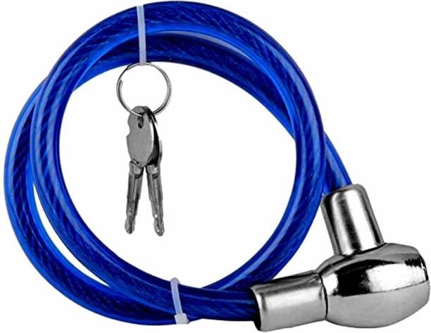 X-speed Plastic, Iron, Steel Cable Lock For Helmet