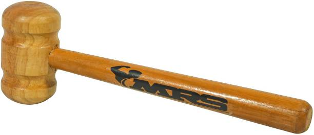 MRS Cricket Bat Knocking Wooden Hammer (ENGLISH AND KASHMIR WILLOW BAT USE) Wooden Bat Mallet