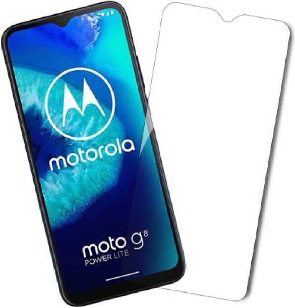 Flipkart SmartBuy Tempered Glass Guard for Motorola Moto G9, Motorola Moto G8 Power Lite