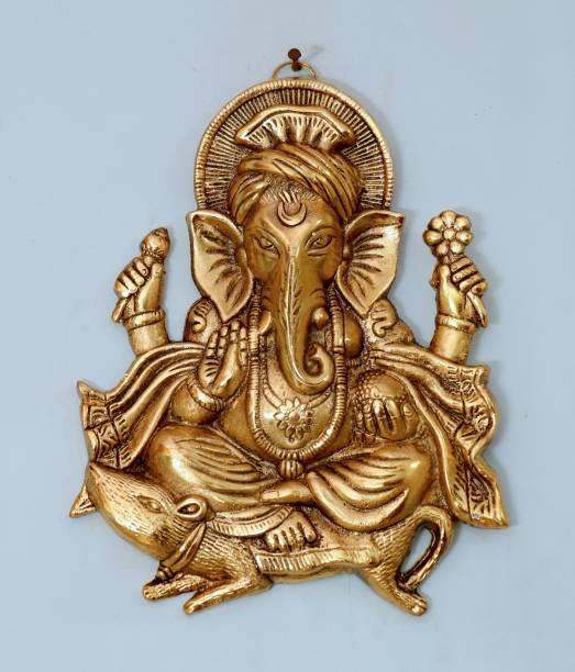 Chhariya Crafts Wall Hanging Lord Ganesh Idol Statue For Home Decor Decorative Showpiece  -  26 cm