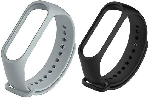 Adlynlife Adjustable Xaom M Band 3 / M Band 4 Wrstband Slcone Strap Smart Band Strap