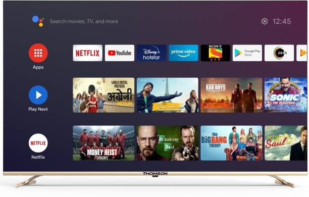 Thomson OATHPRO Series 164 cm (65 inch) Ultra HD (4K) LED Smart Android TV with Dolby Digital Plus