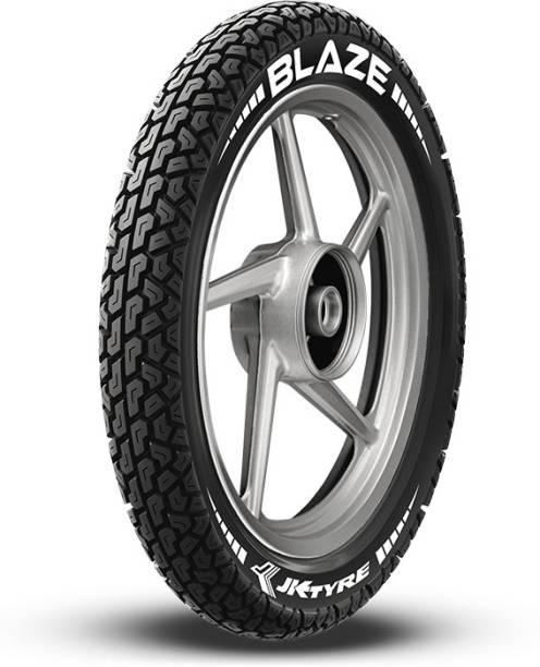 JK TYRE 1B11125016416LA110BLAZE BA11 2.50-16 Front & Rear Tyre