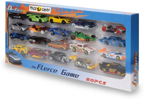 Miss & Chief Diecast Cars - Gift pack