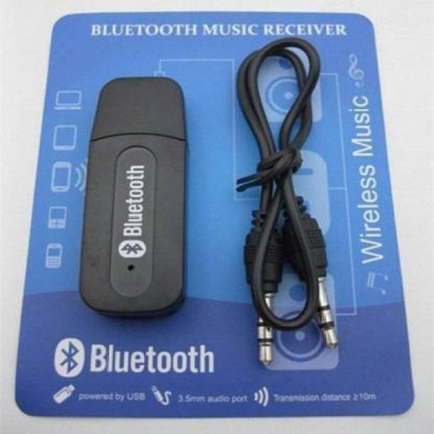 HelloX v4.1 Car Bluetooth Device with FM Transmitter, Audio Receiver, 3.5mm Connector
