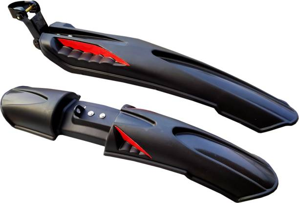 ShivExim Bicycle Dual Tone Front & Rear Mudguard Clip-on Front & Rear Fender Full Length Front & Rear Fender