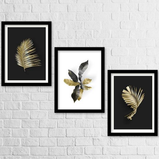 Home Décor Wall Poster - Paintings With Frame For Home Living Room Bedroom Décor| Framed Wall Art| Home Décor| Office Décor| Studio Décor| Wall Decoration| Abstract Art Posters Paper Print