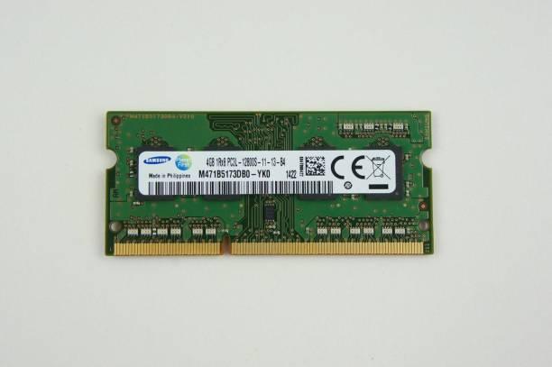 SAMSUNG PC3-12800 DDR3 4 GB (Single Channel) Laptop (M471B5173DB0-YK0 DDR3L (1.35v) LAPTOP)