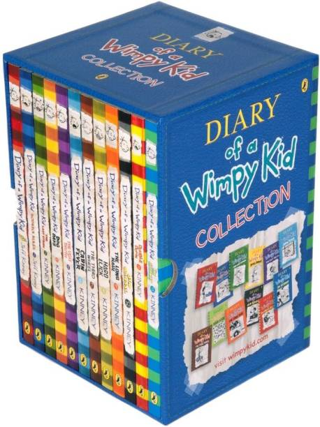 Diary Of A Wimpy Kid Series Collection 12 Books Set