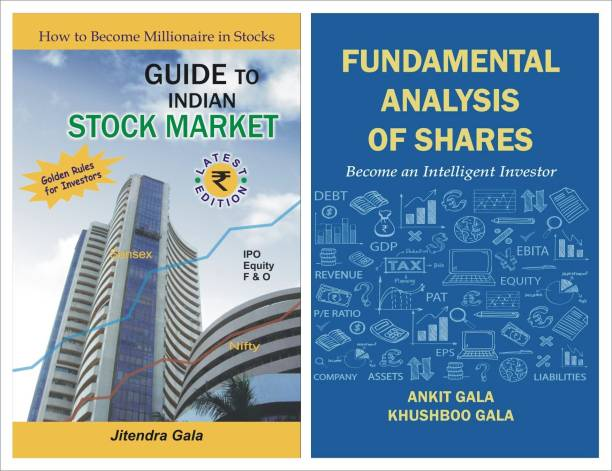 COMBO : Guide To Indian Stock Market + Fundamental Analysis Of Shares