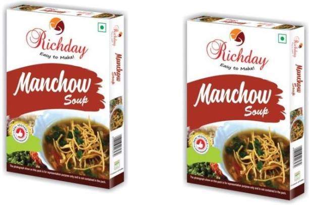Richday Instant Manchow Soup 500g (Pack of 2)
