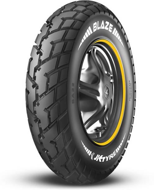 JK TYRE 1S15290A12540JA210BLAZE BA21 90/100-10 Front & Rear Tyre