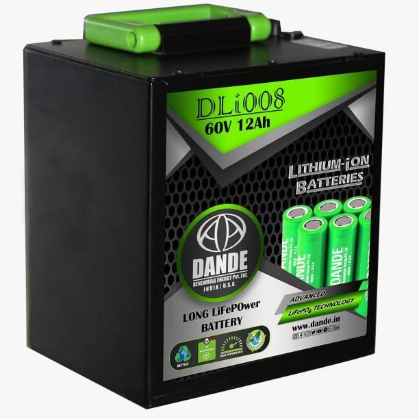 Dande Renewable Energy 703201900000 60 Ah Battery for Bike