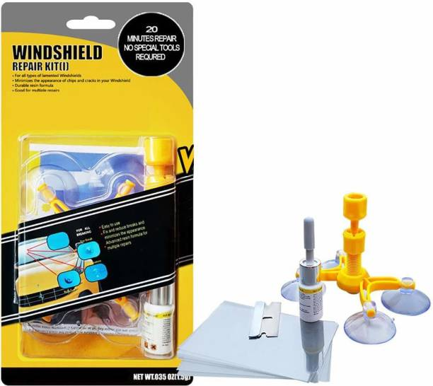 Abhsant Car Windshield Repair Kit Professional Windshield Repair Tools Car Crack Kit Auto Car Accessories.. Windshield Repair Kit