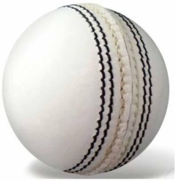 RIO PORT Seasoned Cricket Leather Ball Series (Bull Leather-155 Grams) Cricket Leather Ball
