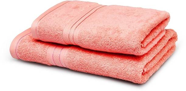 TRIDENT Cotton 525 GSM Bath Towel Set