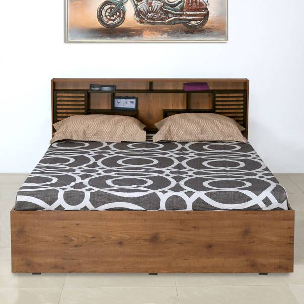 Nilkamal Czar2 Engineered Wood Queen Box Bed