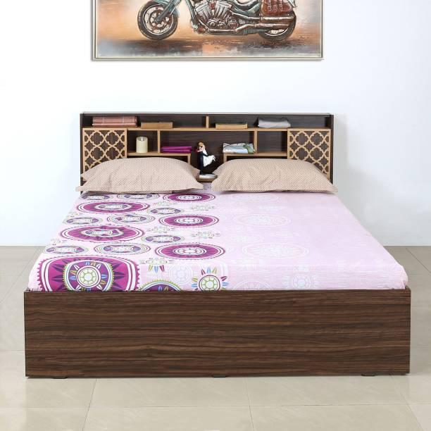 Nilkamal Czar1 Engineered Wood Queen Box Bed