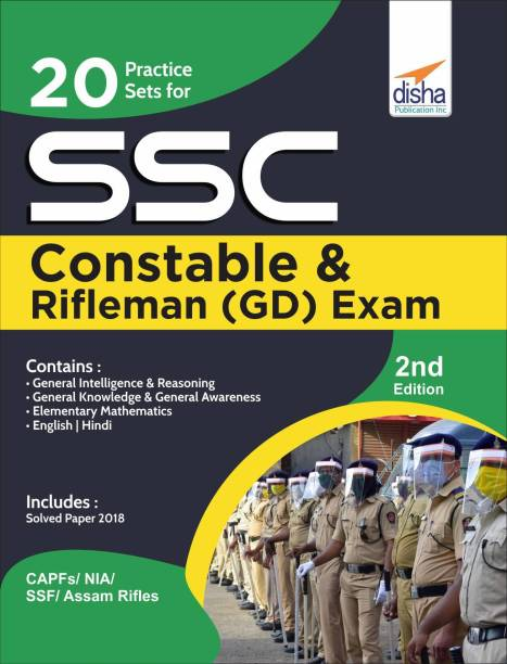 20 Practice Sets for SSC Constable & Rifleman (GD) Exam 2nd Edition