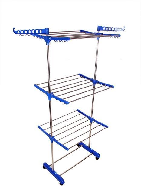 LUHI Steel Floor Cloth Dryer Stand Cloth Dryer Stands