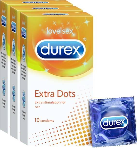 DUREX Extra Dots Condom