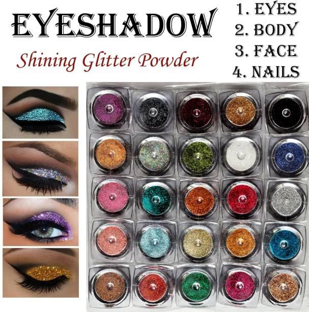 VOZWA Multicolor Beautiful Eyeshadow Glitter Powder 50 g