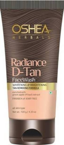 Oshea Herbals Radiance d tan face wash 120gm Face Wash